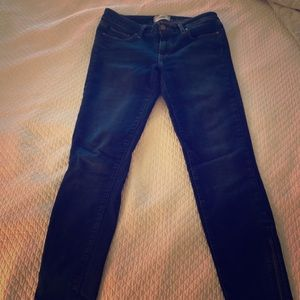 Paige Verdugo ankle zip skinny jeans size 29